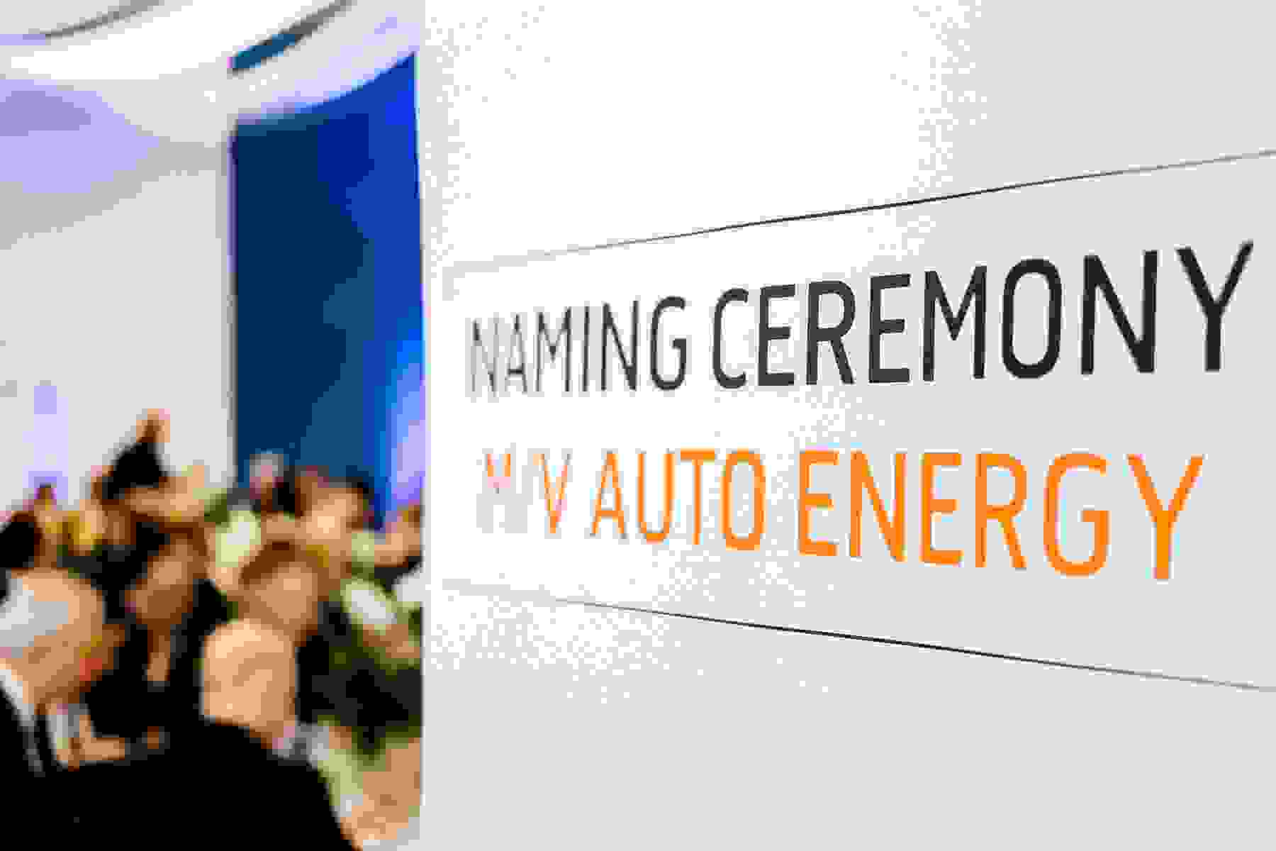 Official Naming Ceremony Videos